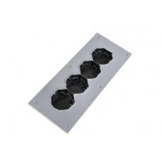 Подрозетник звукоизоляционный Ультракустик на четыре поста