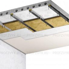 Базовая Звукоизоляция потолка (8 см)